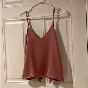 Missguided Open Back Tank